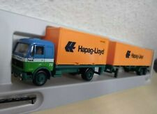 "Herpa 1:87 - MB NG 20/40ft Container-HZ ""Heik / Hapag-Lloyd"" - 811544 - (MS)"