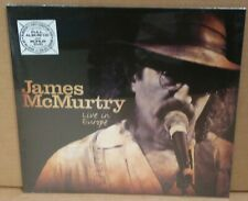 James McMurtry Live In Europe LP CD, DVD, NEW sealed VINYL LP record ian mclagan