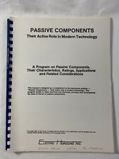PASSIVE COMPONENTS - Active Role in Modern Technology - ELECTRO HORIZONS INC.