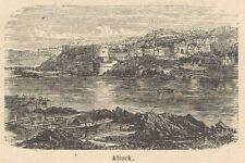 C8034 Punjaub - Atak - View - Stampa antica - 1892 Engraving