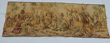 Vintage French Beautiful Arabian Girls Dancing Scene Tapestry 134x48cm (T592)