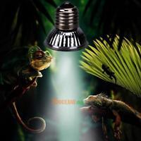 Reptile Tortoise UVA+UVB 3.0 Heating Lamp Full Spectrum Sunlamp Basking Pet