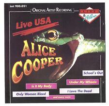 Alice Cooper: Live USA  CD