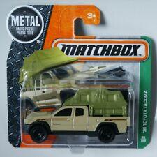 Matchbox '16 Toyota Tacoma  short card ___ read before bid