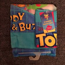 Toy Story 2 - Towel & Washcloth - 2 Piece Bath Set