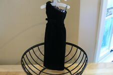 Franklin Mint Jackie Kennedy Vinyl Doll Black Sheath Gown For A Vinyl Doll