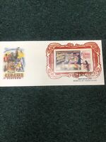 US Vintage Circus Posted Souvenir Sheet No Die Cuts first day cover Very Scarce