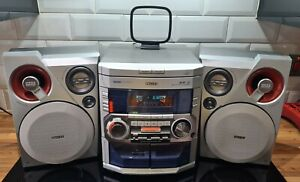 Phillips FWM399 Stereo - Triple-CD - Twin-Tape - Good Condition
