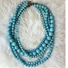 Anthropology Baublebar Turquoise Bead NecklaceRRP £69