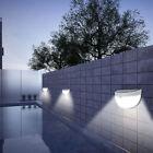 8x Super Bright Solar Powered Door Fence Wall Lights Led Outdoor Garden Lighting