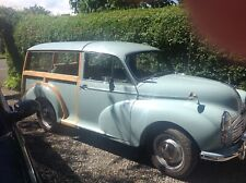 Morris Minor Traveler Highly Original poss' part ex' VW T2 camper/Minor Convert