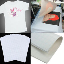 2Pcs A4 Heat Transfer T-Shirt Laser/Inkjet Iron-On Paper For Dark/Light Fabric