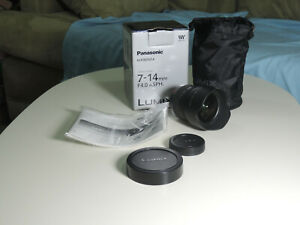 Panasonic Lumix G Vario 7-14mm f/4.0 AF ED Aspherical Lens