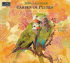 Lang 1001859 Garden of Plumes 2016 Wall Calendar by Evelia Sowash