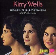 Queen Of Honky Tonk Angels: Four Original Albums - Ki (2012, CD NIEUW)2 DISC SET