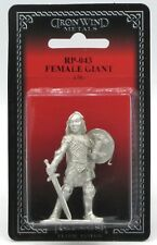 Ral Partha RP-043 Female Giant with Sword & Shield Armored Warrior Fighter Hero