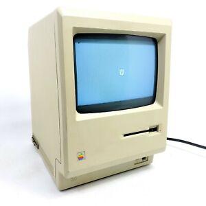 For Restoration 1984 Vintage Apple Macintosh 512K M0001 W PC Computer Fat Mac
