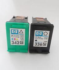 2x HP 336 & 342 Druckerpatrone für Photosmart C3180 C 3180