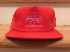 Tampa Super Bowl Xviii 18 1980'S 1983 Vintage Nfl old hat.