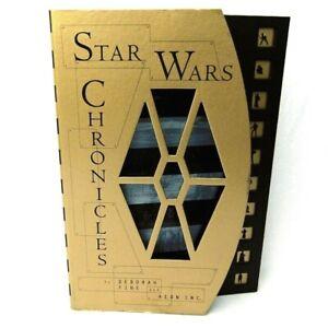 Star Wars Chronicles Hardback Book 1997 By Deborah Fine and Aeon Inc