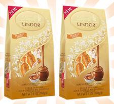 2 Lindt Lindor Dulche de Leche Milk Chocolate Truffles LIMITED EDITION 6 OZ