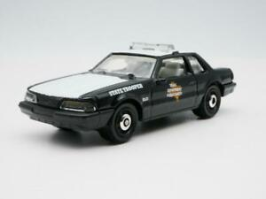 1993 FORD MUSTANG LX TEXAS PUBLIC SAFETY  1:64 SCALE  DIECAST COLLECTOR  MODEL C