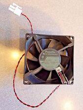 Panaflo Fan DC Brushless 12v 80x80x25mm 3 wire/pin Cooling Matsushita FBA08A12H