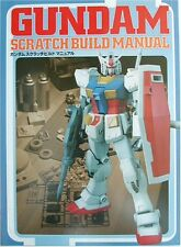 Gundam Scratch build Manual Model Kit Book
