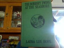 Laura Lee Hope, THE BOBBSEY TWINS AT THE SEASHORE (Grosset & Dunlap) Green HB