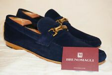 bruno magli mens shoes 12 Suede Navy Blue