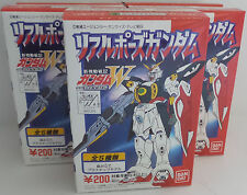 GUNDAM : W GUNDAM : SET OF 5 SMALL MODEL KITS MADE BY BAN DAI IN 1995