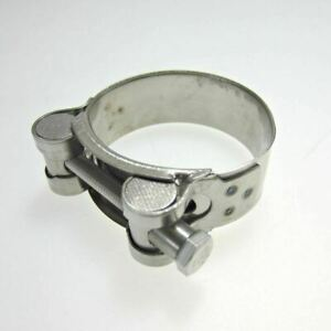 Heavy Duty Stainless Steel Motorcycle Exhaust Banjo Clamp Clip 48mm - 51mm