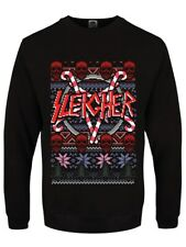 Sleigher Black Men's Christmas Jumper
