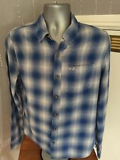 Hollister mens multi checked shirt  size M