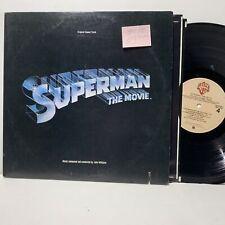 John Williams Superman Soundtrack- Warner Bros 3257 2LP VG+/VG+- /VG+