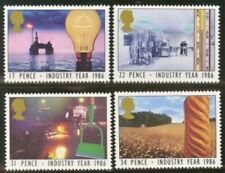 Gb Mnh Scott 1129-1132, 1986 Industry year set of 4