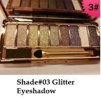 9-Diamond Urban Colors Glitter Eye-shadow Palette Makeup,Great Naked Look,03,UK