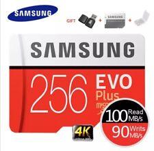 SAMSUNG Memory Card EVO Plus 4K Ultra HD Micro SD 256GB 128G 64GB  Class10 Micro