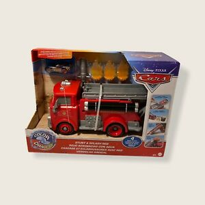 NEW Pixar Cars Color Changers STUNT & SPLASH RED (2 In 1) Fire Truck RS Disney