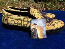 HARRY POTTER Brand NEW Hogwarts School THE MARAUDERS MAP Casual Mens Shoes Sz 10