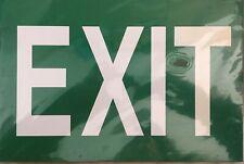 Exit rigid plastic Sign 20cmx30cm