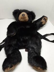The Bearington Collection- Black Bear Backpack
