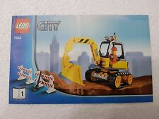 MANUALE ISTRUZIONI LEGO 7633 CITY RUSPA - ONLY MANUAL