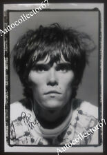Authentic IAN BROWN signed AUTOGRAPH photograph STONE ROSES