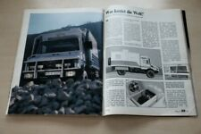 AMS 14285) Mercedes Unimog 1300 Wohnmobil Samofant mit 168PS i