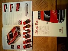 1996  Dodge  Ram   'MOPAR ACCESSORIES'  Sales  Brochure