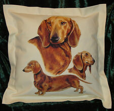 Hand crafted Tan Dachshunds
