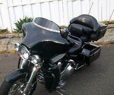 """USA Made 4"""" Black Windshield for Harley Davidson 96- 2013  FLH  DRESSER FLHX"""