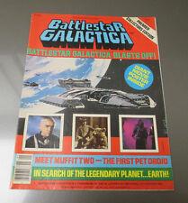 1978 BATTLESTAR GALACTICA Poster Magazine #1 VF-