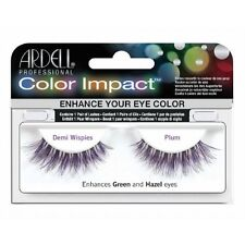 Ardell Color Impact False Eyelashes in Blue, Plum or Wine - Demi Wispies or 110